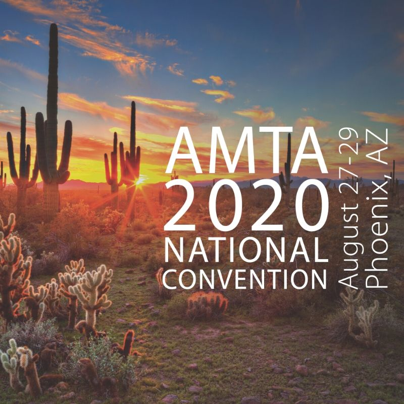 AMTA 2020 National Convention logo