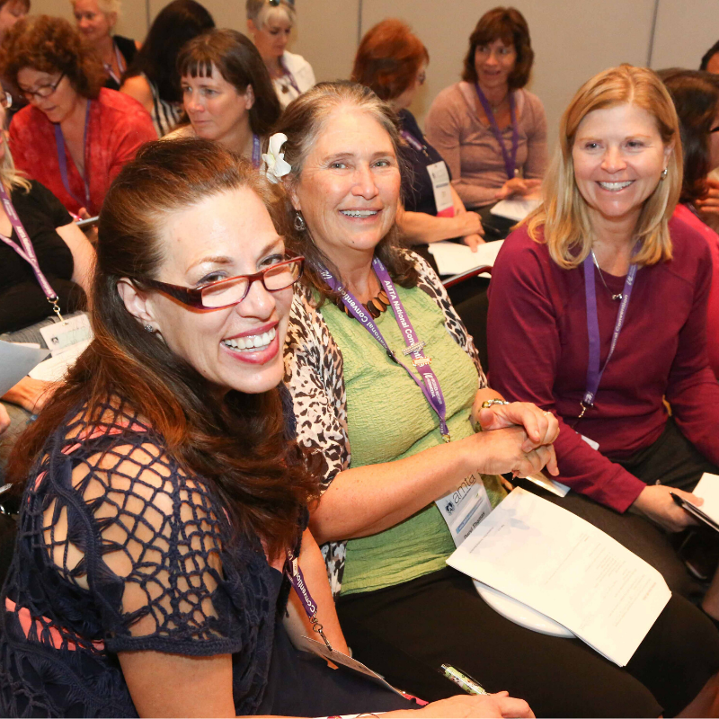 attendees at the AMTA National Convention