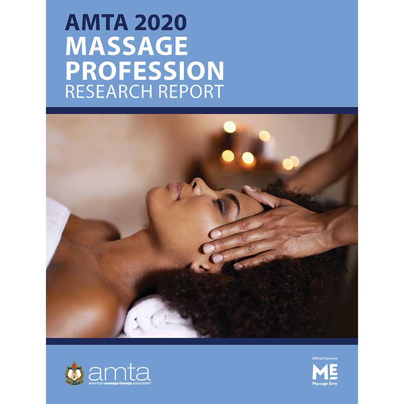Massage Therapy Profession Report 2020 cover